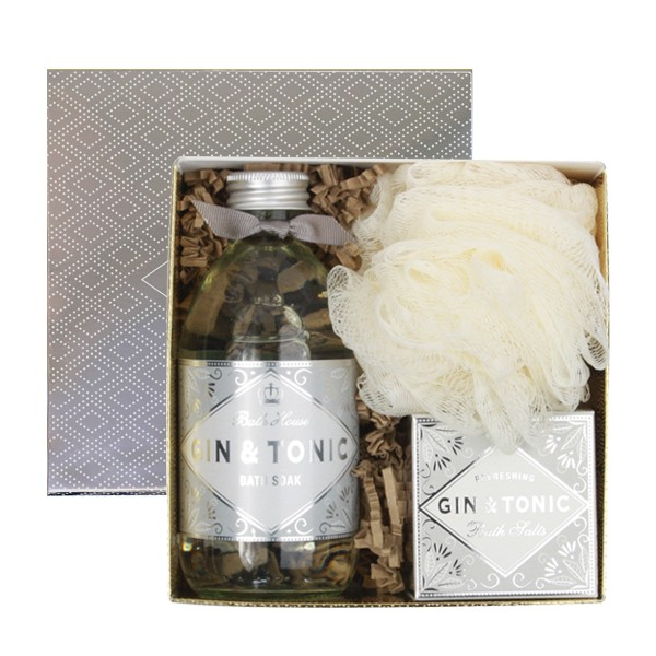 Bathhouse Gin & Tonic Gift Box Bathe