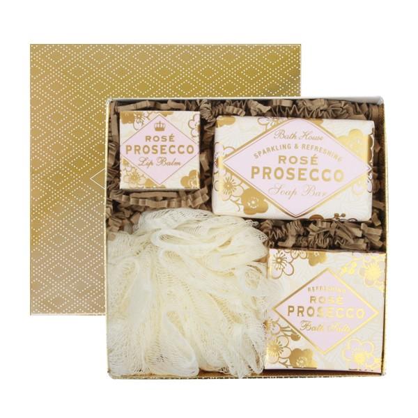 Rose Prosecco Gift Box Bathe