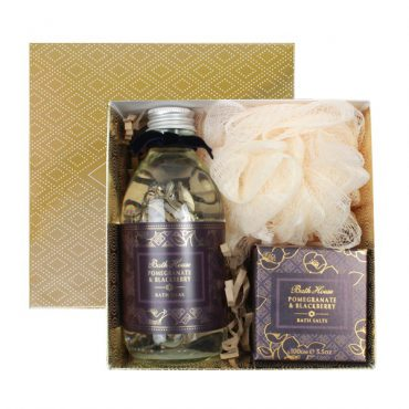 Pomegranate & Blackberry Gift Box Bathe
