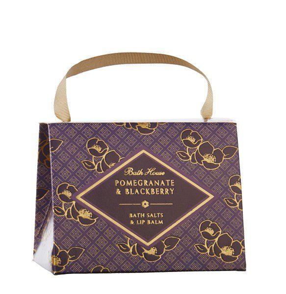 Pomegranate & Blackberry Handbag