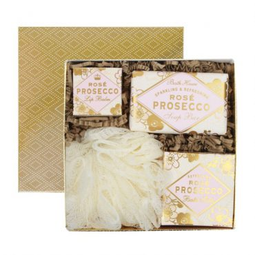 Rose Prosecco Gift Box Bathe